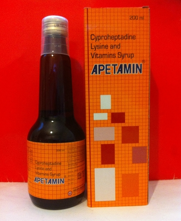 Apetamin vitamins syrup for appetite 25x200ml case for Fish oil weight gain