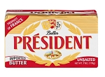 PRESIDENT FRENCH BUTTER 20X198G