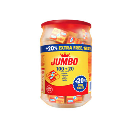 JUMBO HALAL STOCK CUBES 10X100+20% Bottle CASE