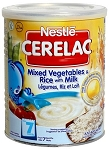 CERELAC MIXED VEGETABLES & RICE WITH MILK 24 X 400 GRAM