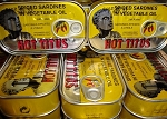 HOT TITUS SPICED SARDINES IN VEGETABLE OIL 100X4.3OZ