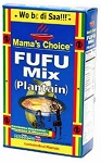 MAMA'S CHOICE PLANTAIN FUFU FLOUR 24X24OZ
