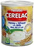 NESTLE CERELAC HONEY WHEAT MILK 24 X 400G