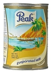 PEAK MILK EVAPORATED MILK 48 X 410G