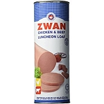 ZWAN BEEF & CHICKEN LUNCHEON LOAF HALAL 12X29.5 OZ