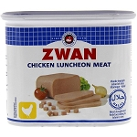ZWAN CHICKEN LUNCHEON LOAF HALAL 24X12 OZ